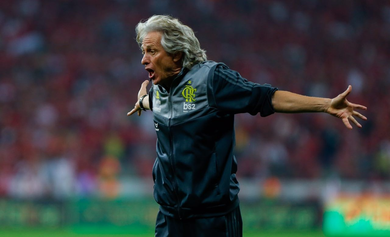 Jorge Jesus Flamengo Copa Libertadores
