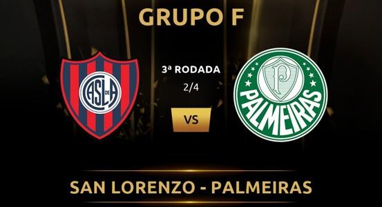 San Lorenzo vs Palmeiras