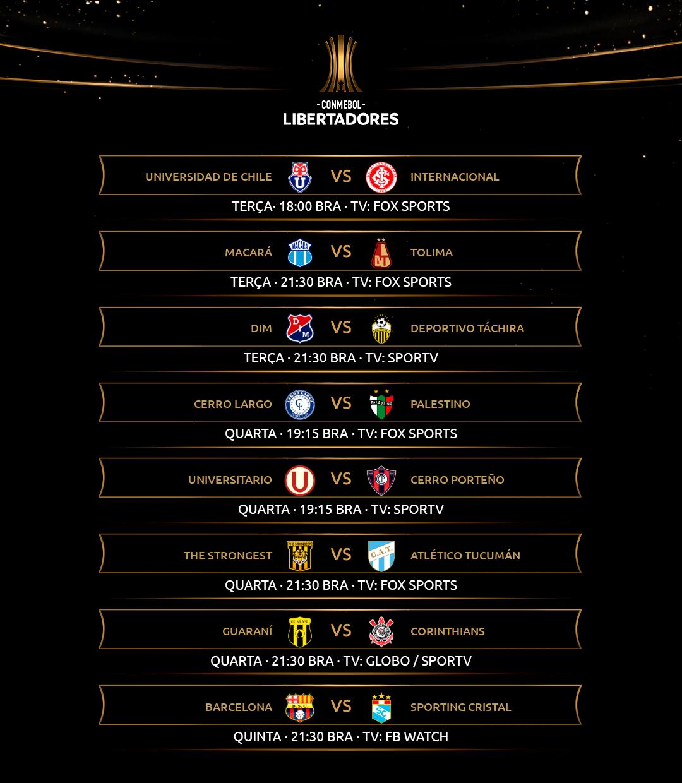 Fase 2 Libertadores - dia