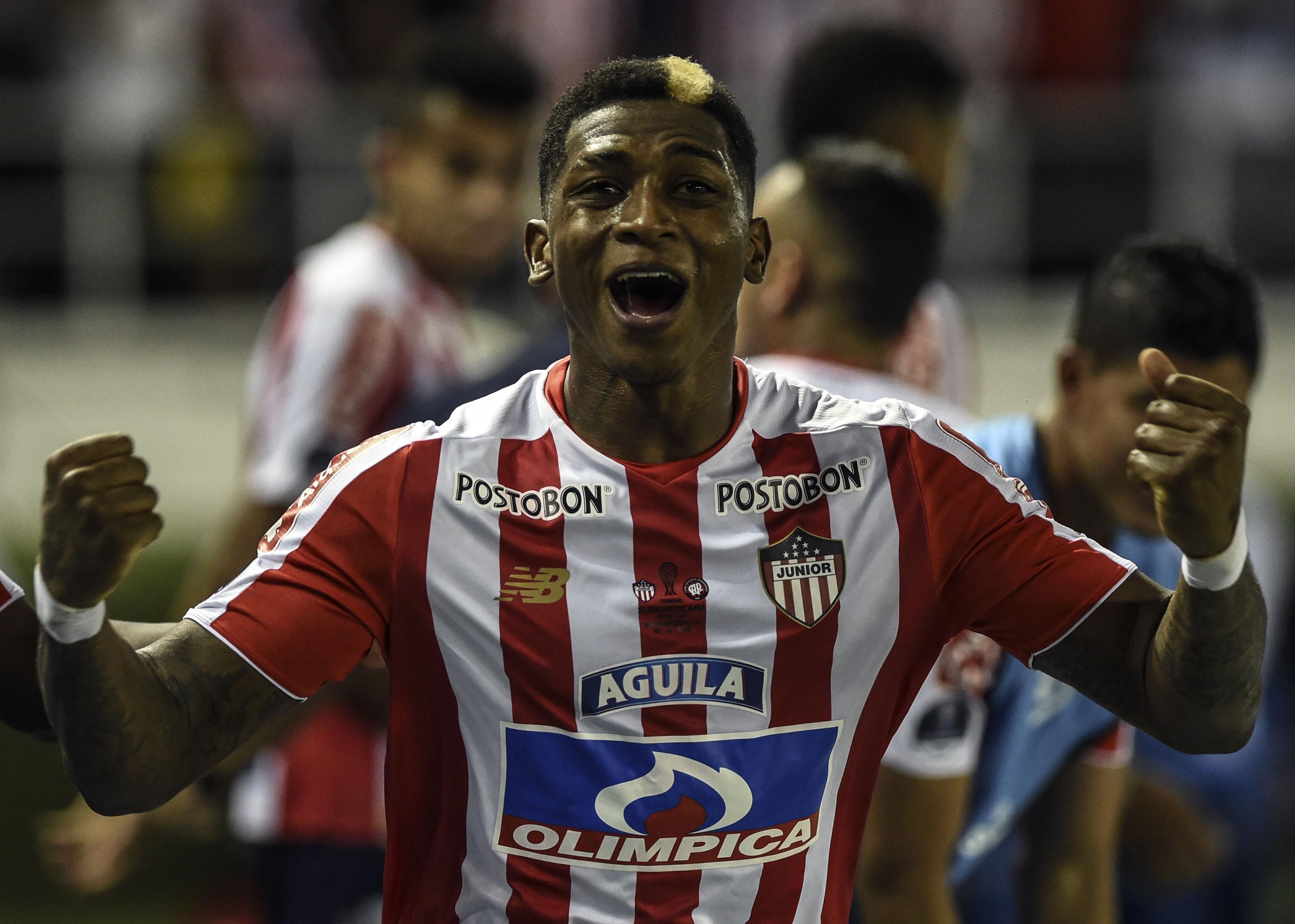 Yony Gonzalez Junior Barranquilla Atlético Paranaense Copa Sudamericana 2018