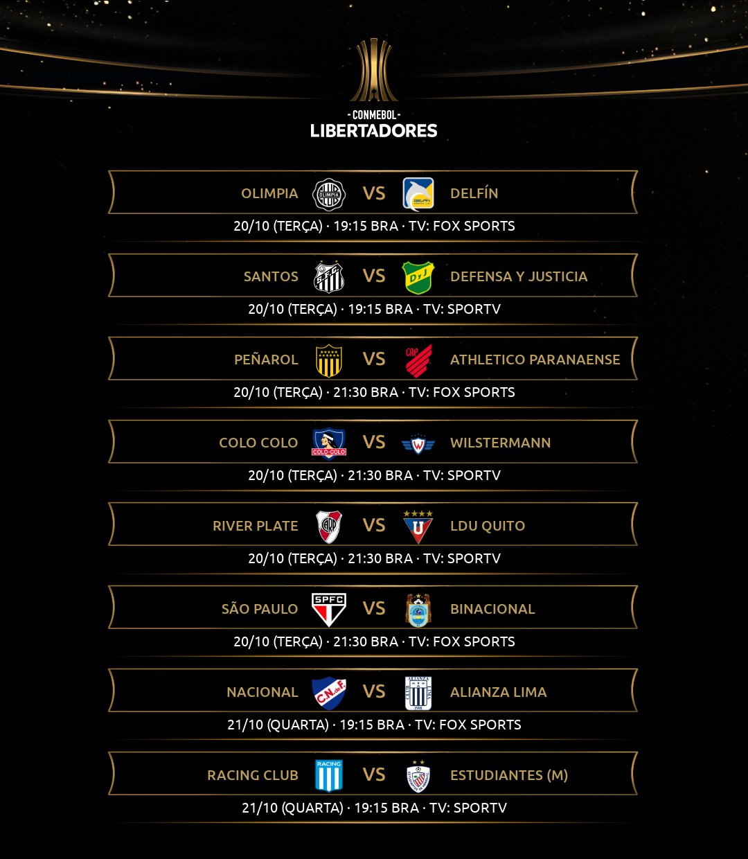 Sexta rodada - Libertadores