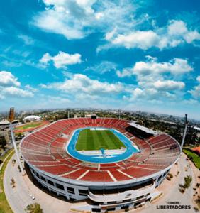 Estadio Nacional Chile Arte Libertadores