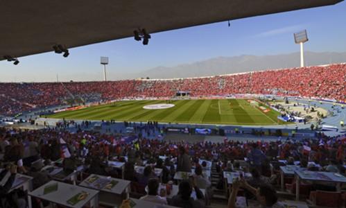AFP Estadio Nacional Santiago Final Única