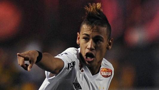 AFP Neymar Santos Copa Libertadores