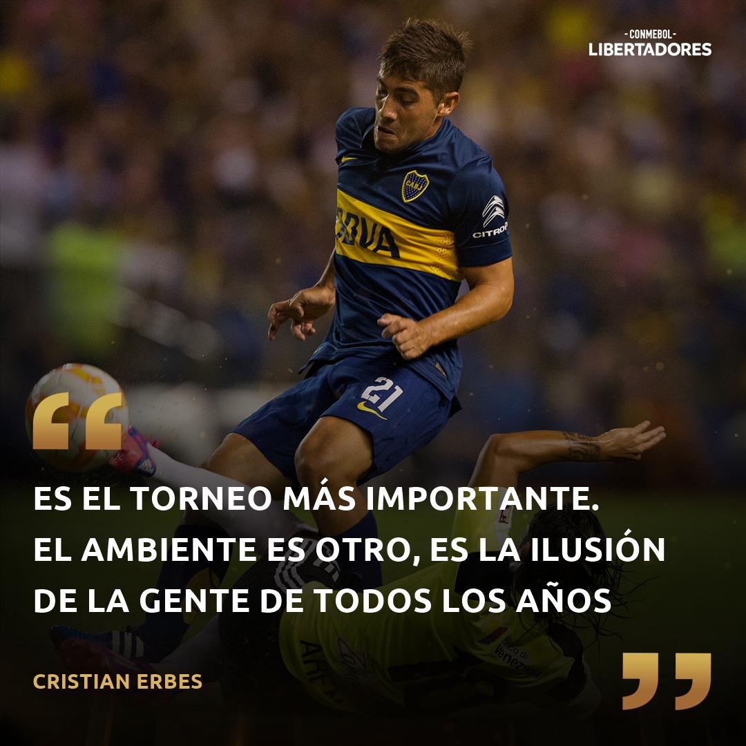 CONMEBOL Libertadores Cristian Erbes Boca Juniors