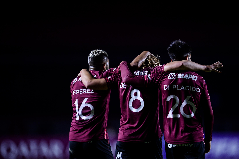 Lanús - Sao Paulo Sudamericana