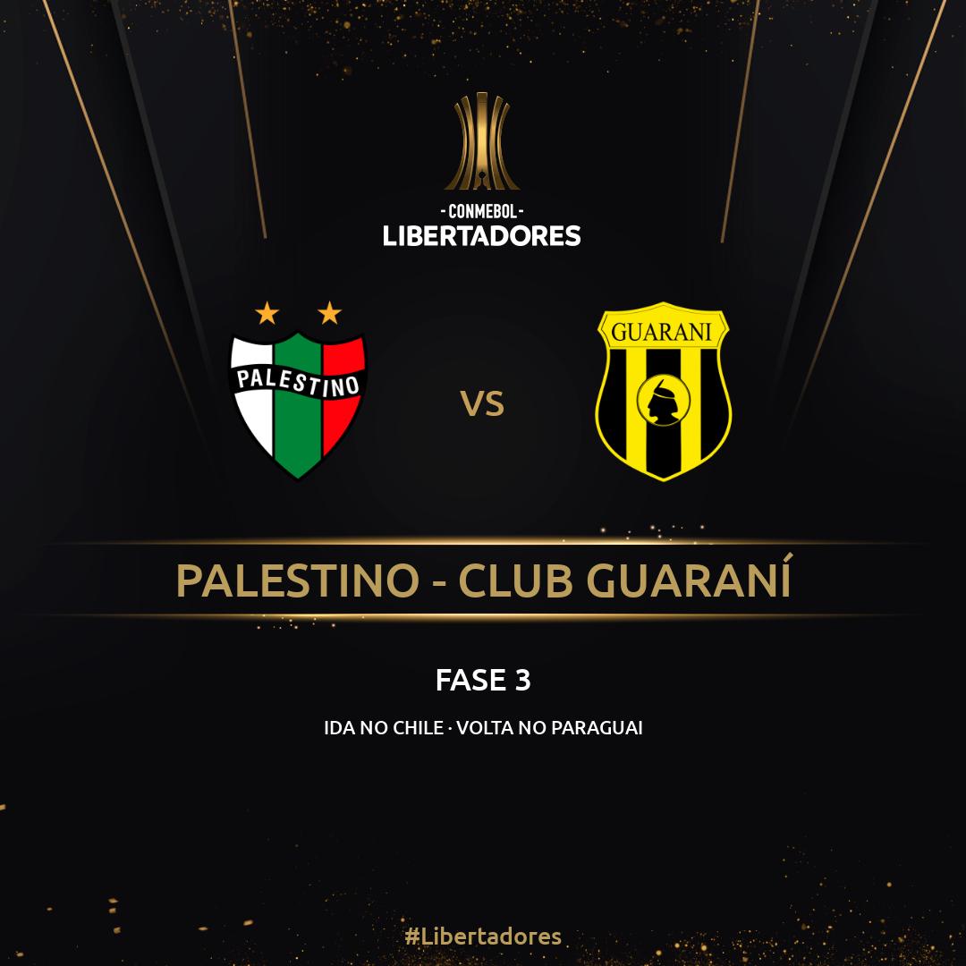 Palestino x Guaraní