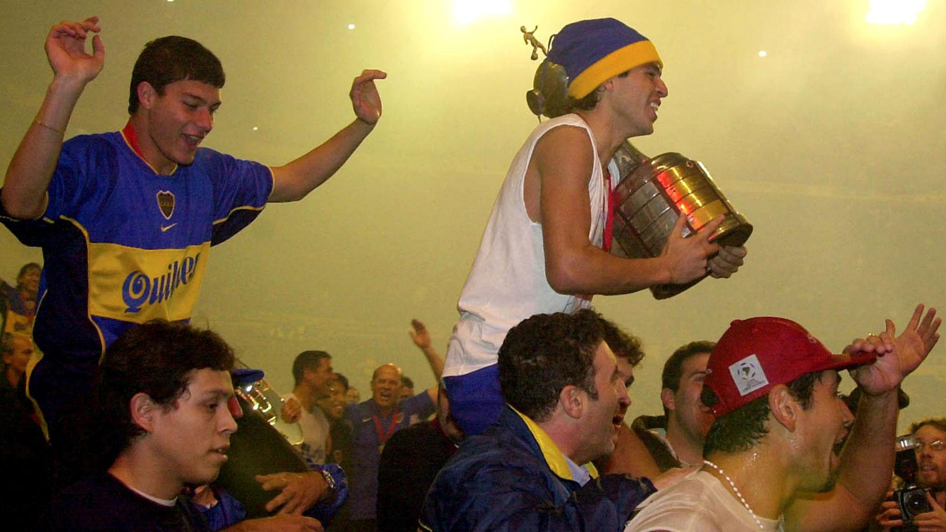 Boca Copa Libertadores 2001 Riquelme