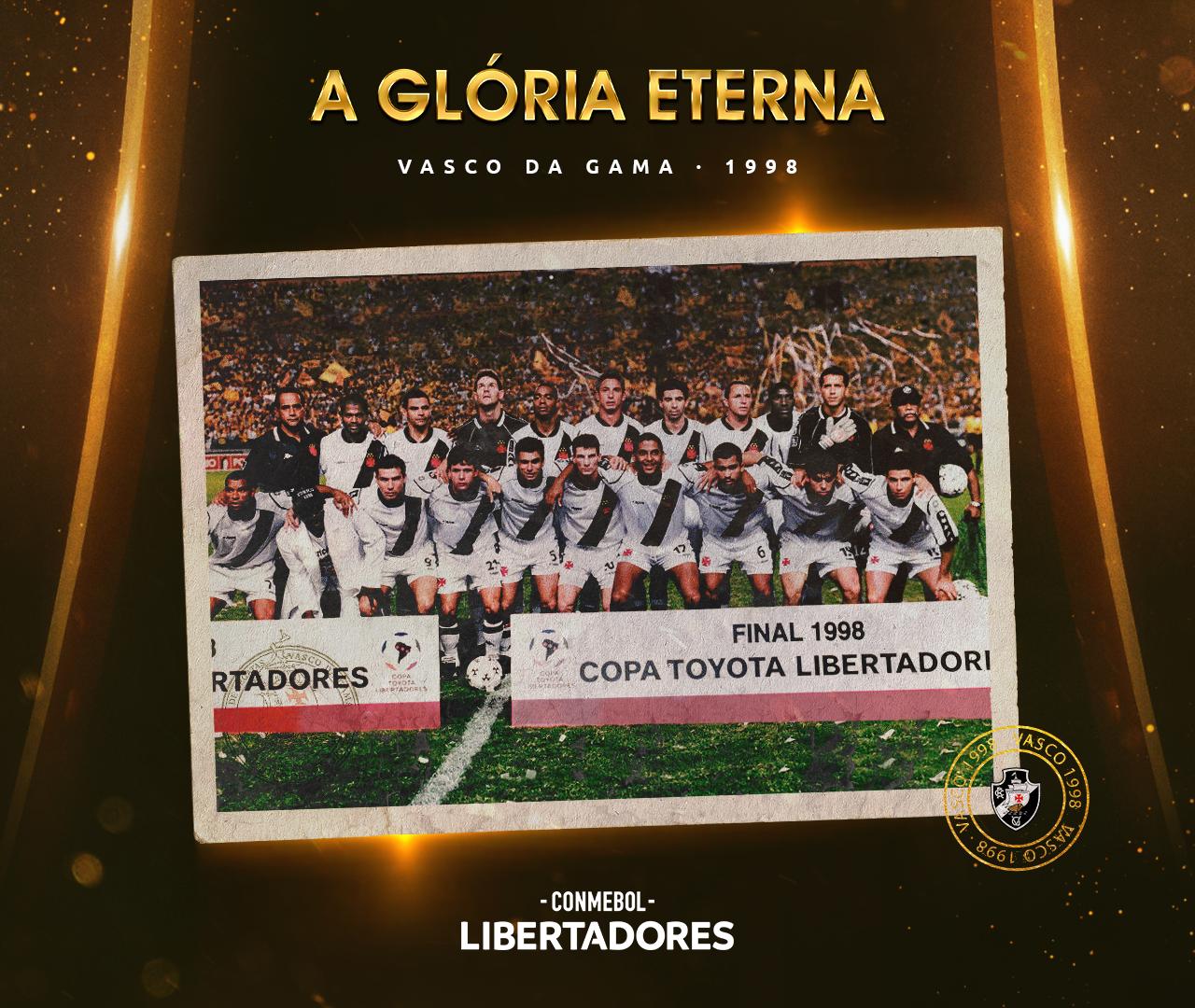 Vasco Libertadores 1998