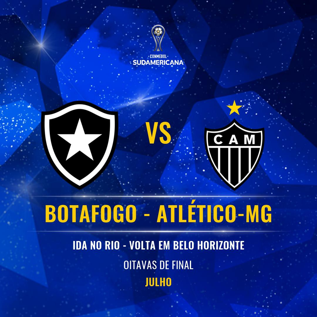 Botafogo x Atlético-MG - Sul-Americana
