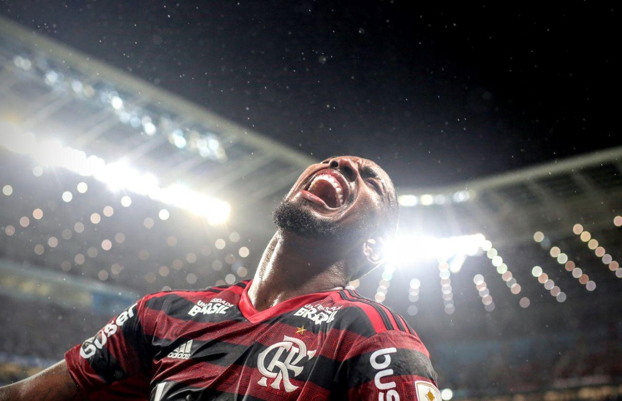 Flamengo x Grêmio - Libertadores - Gerson