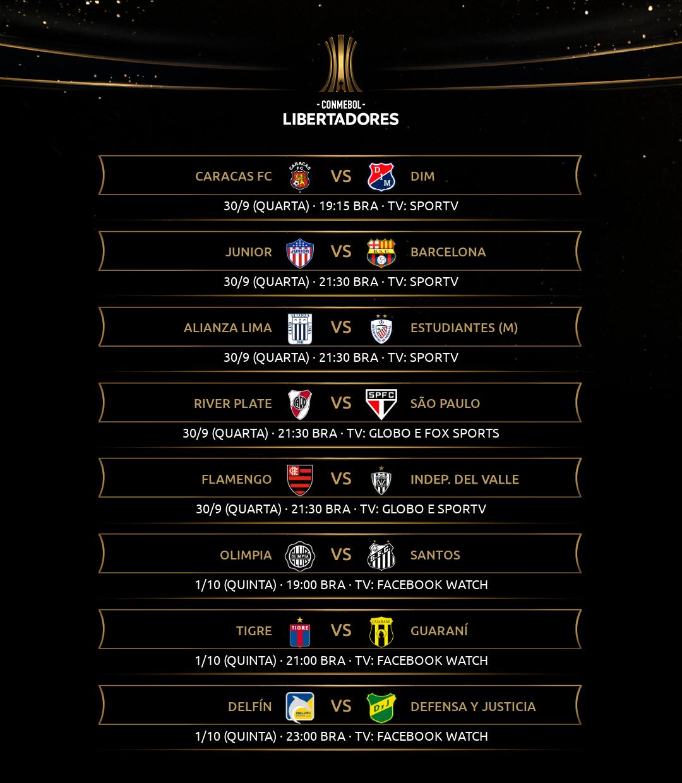 Quinta rodada - Libertadores