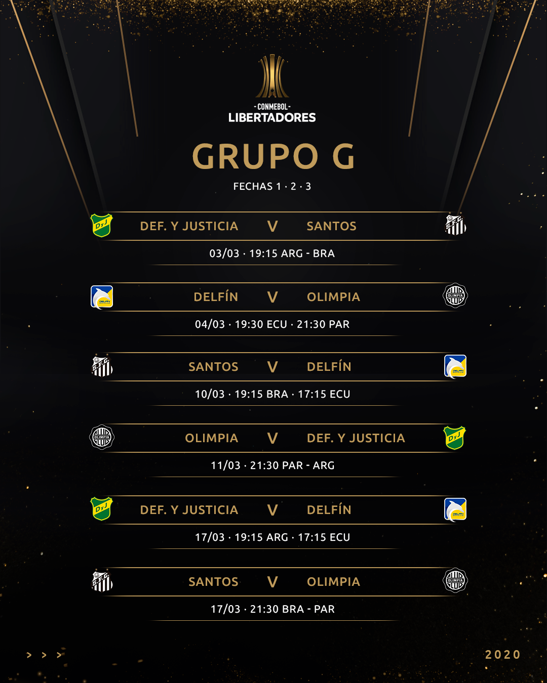 Grupo G fixture
