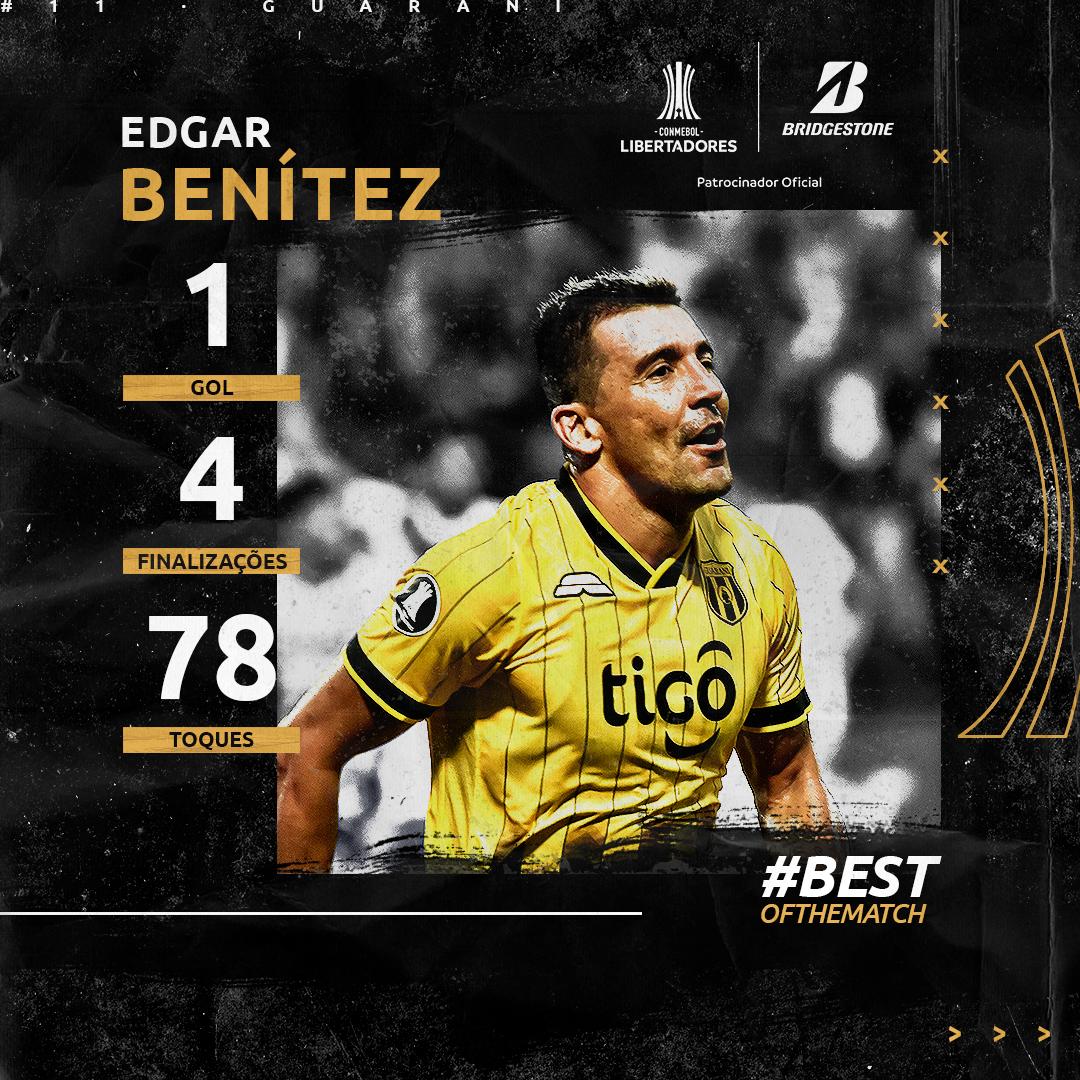 Edgar Benítez Bridgestone