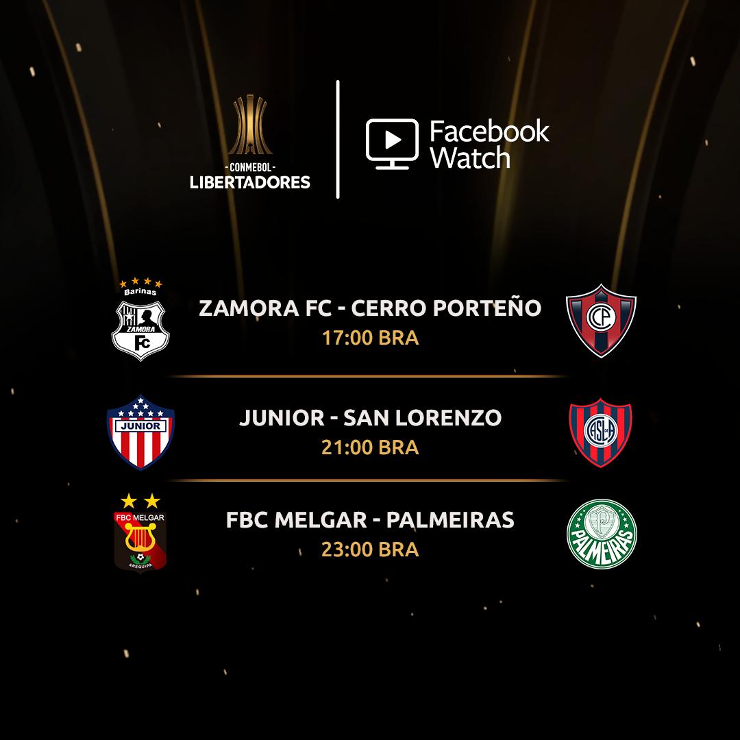 Agenda - Facebook Libertadores