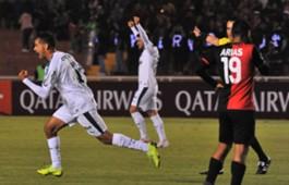 Gustavo Scarpa comemora contra o Melgar
