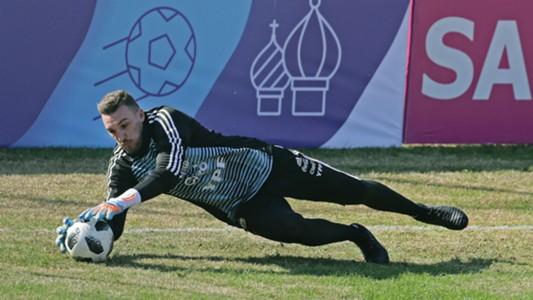 Franco Armani Selección Argentina