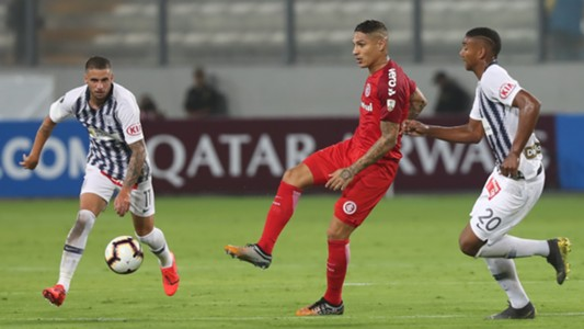 Guerrero Alianza Lima Internacional Copa Libertadores