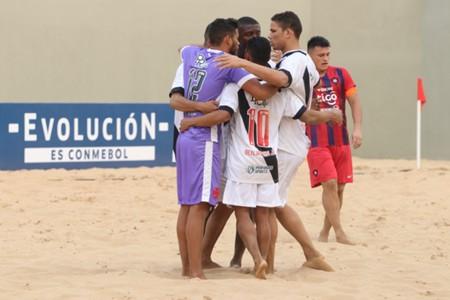 AFP Vasco Cerro Porteno Libertadores Beach Soccer