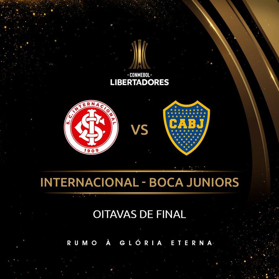 Arte: Inter x Boca