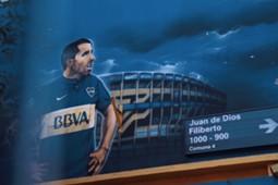 Imagem de Tevez no Boca