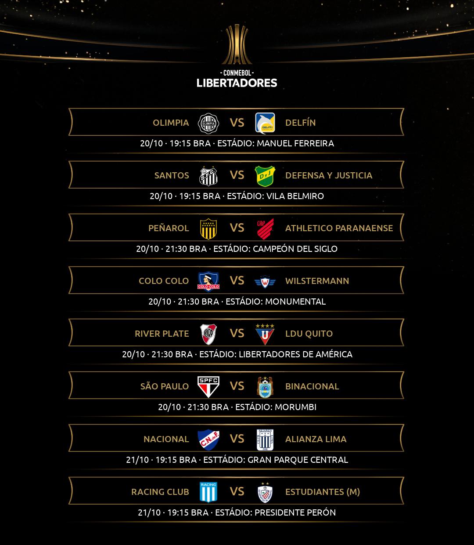 Libertadores - Rodada 6-1