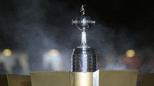 Libertadores trophy stock