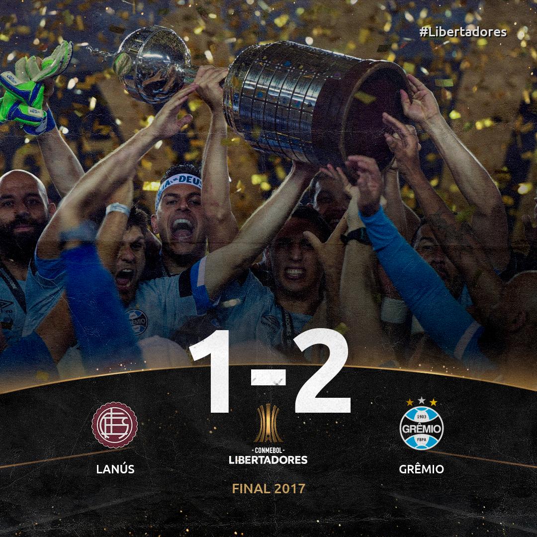 Lanús x Grêmio - Libertadores 2017