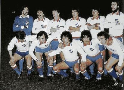 Nacional campeón Libertadores 1980