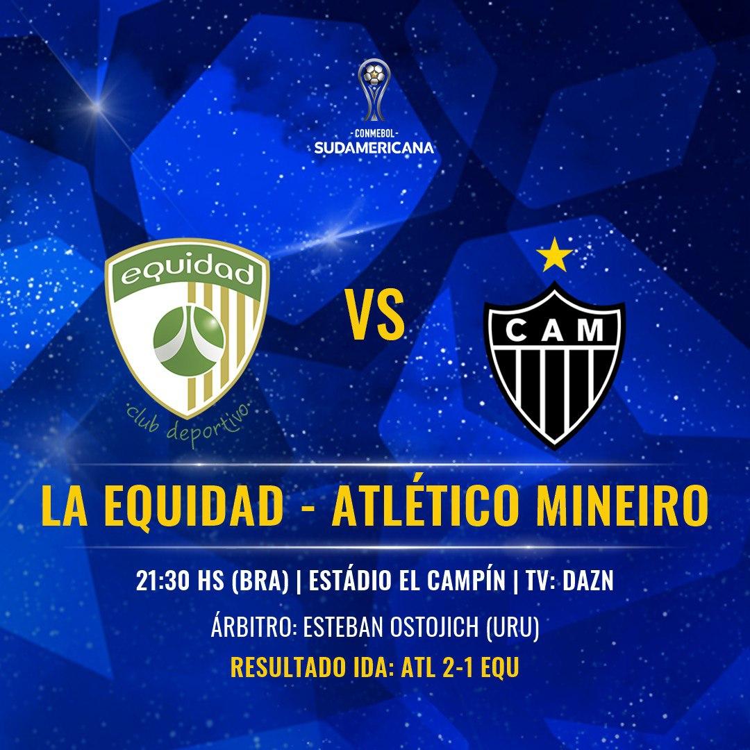 La Equidad vs Atlético Mineiro