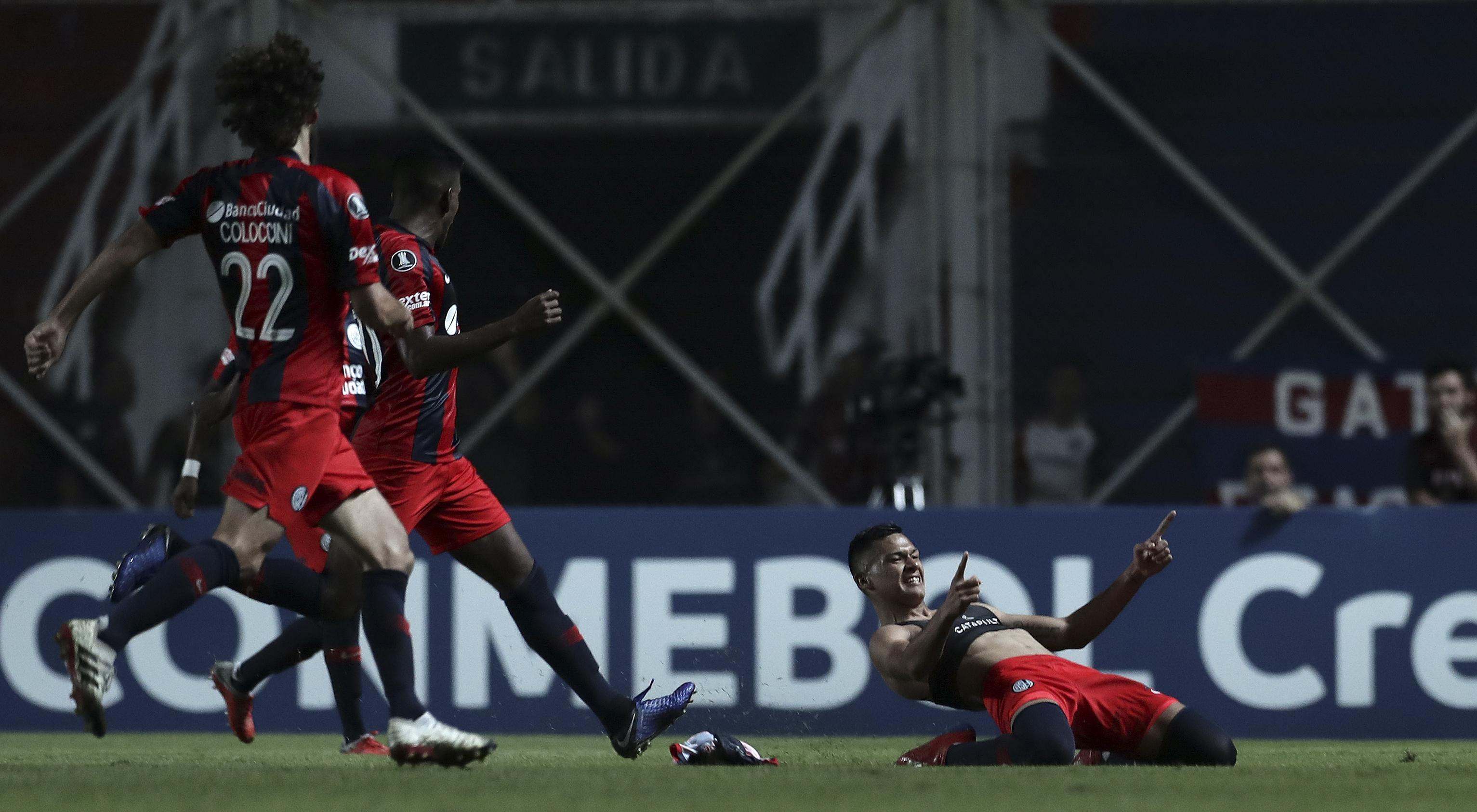 AFP Marcelo Herrera San Lorenzo Palmeiras CONMEBOL Libertadores
