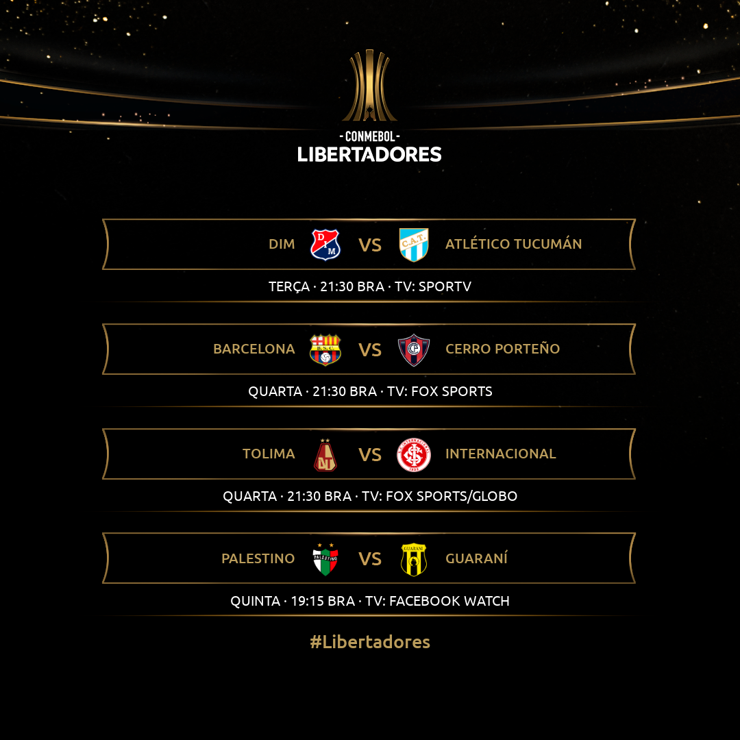Agenda semana Libertadores