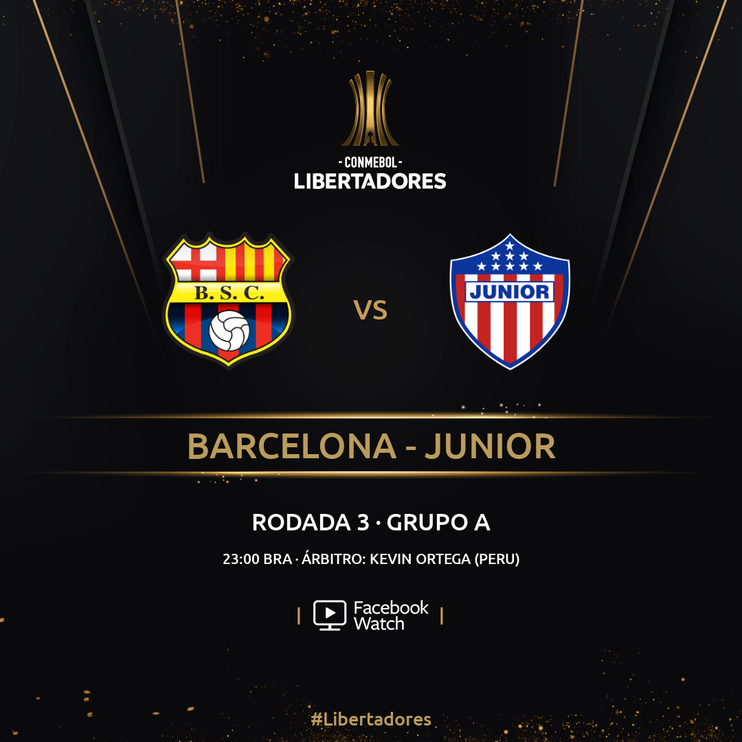 Barcelona x Junior