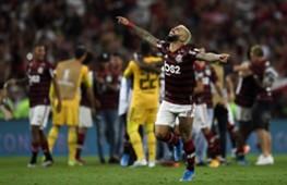AFP Gabigol Flamengo Libertadores 2019