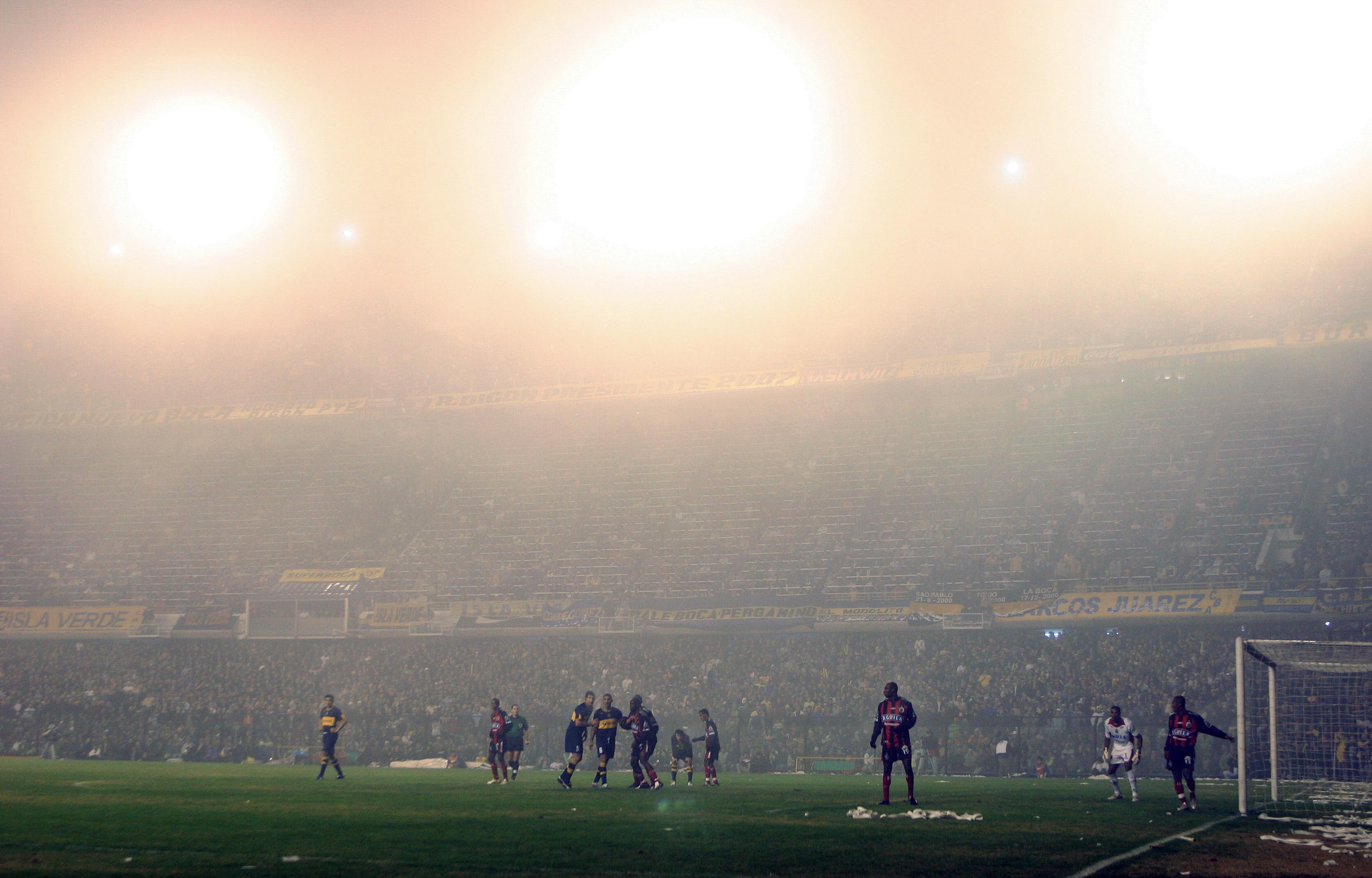 Boca Cucuta CONMEBOL Libertadores 2007 semifinales