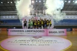 Cianorte campeon CONMEBOL Libertadores Futsal Femenino 2019