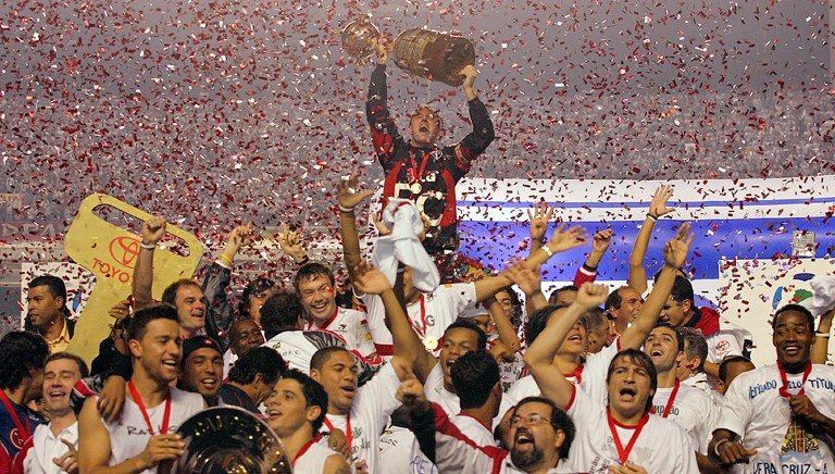 AFP Rogério Ceni Libertadores 2005