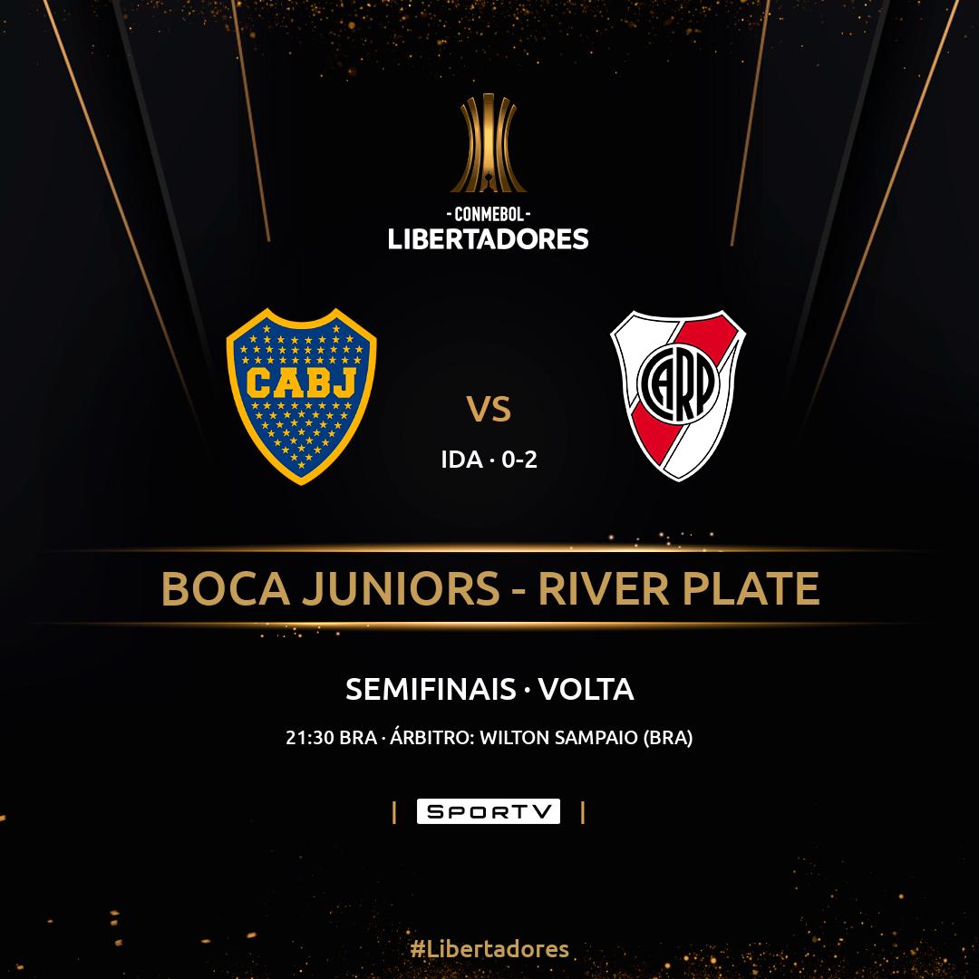 Boca Juniors River Plate semifinal volta