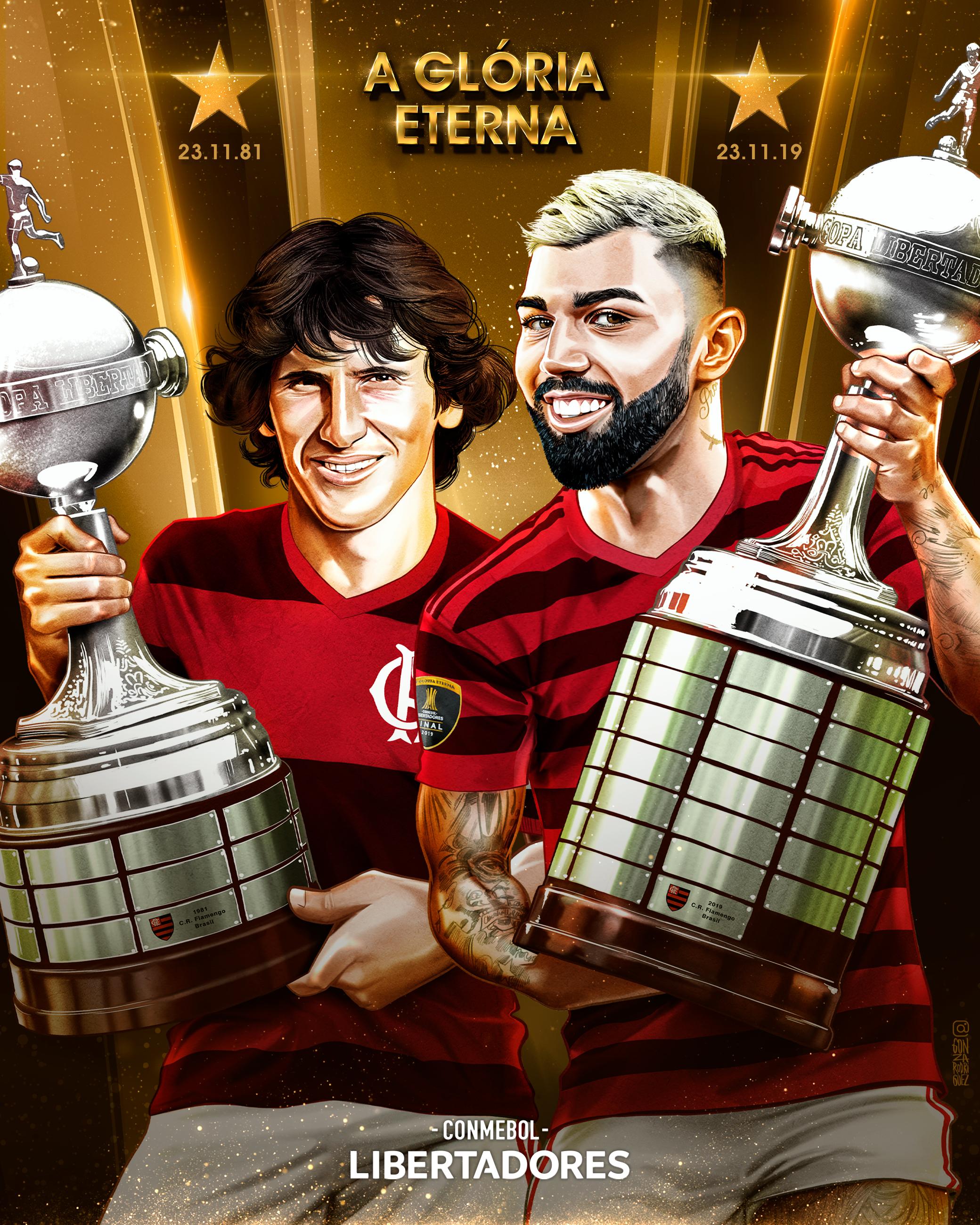 Gabigol e Zico - especial Libertadores