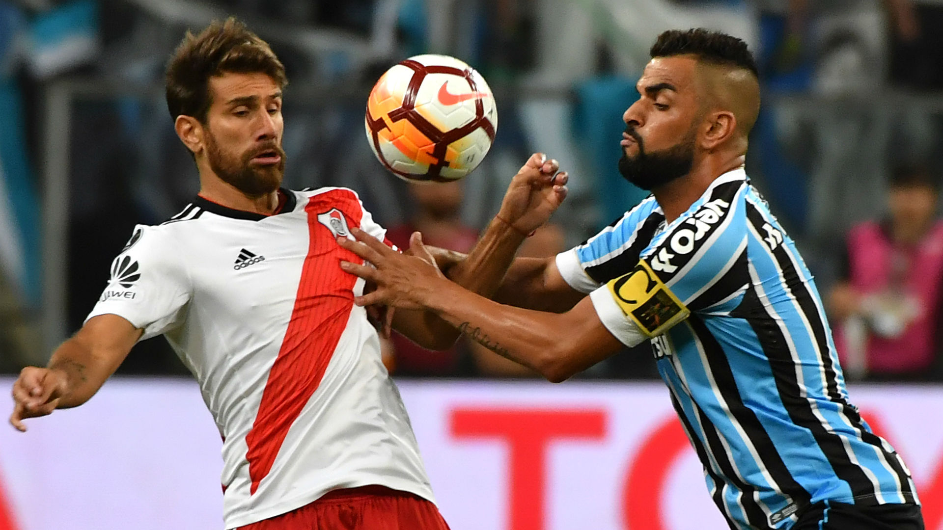 AFP Gremio River Plate Copa CONMEBOL Libertadores 30102018 Leonardo Ponzio
