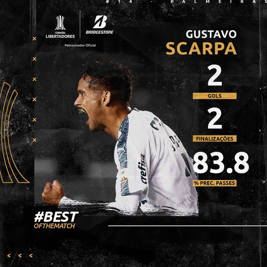 Gustavo Scarpa - Craque da Semana 1