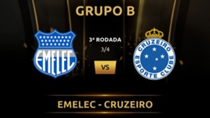 Emelec vs Cruzeiro