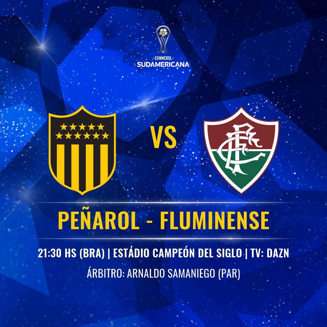 Placa Peñarol e Fluminense