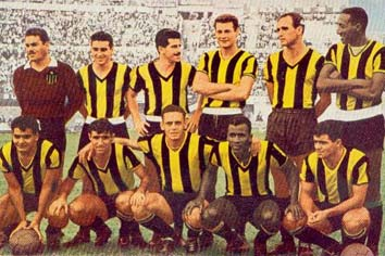 Peñarol Libertadores 1960