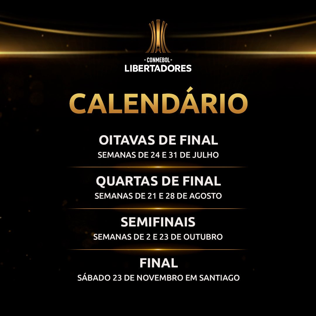 calendário da Libertadores 2019