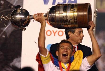 LDU campeã Libertadores 2008 no Maracanã