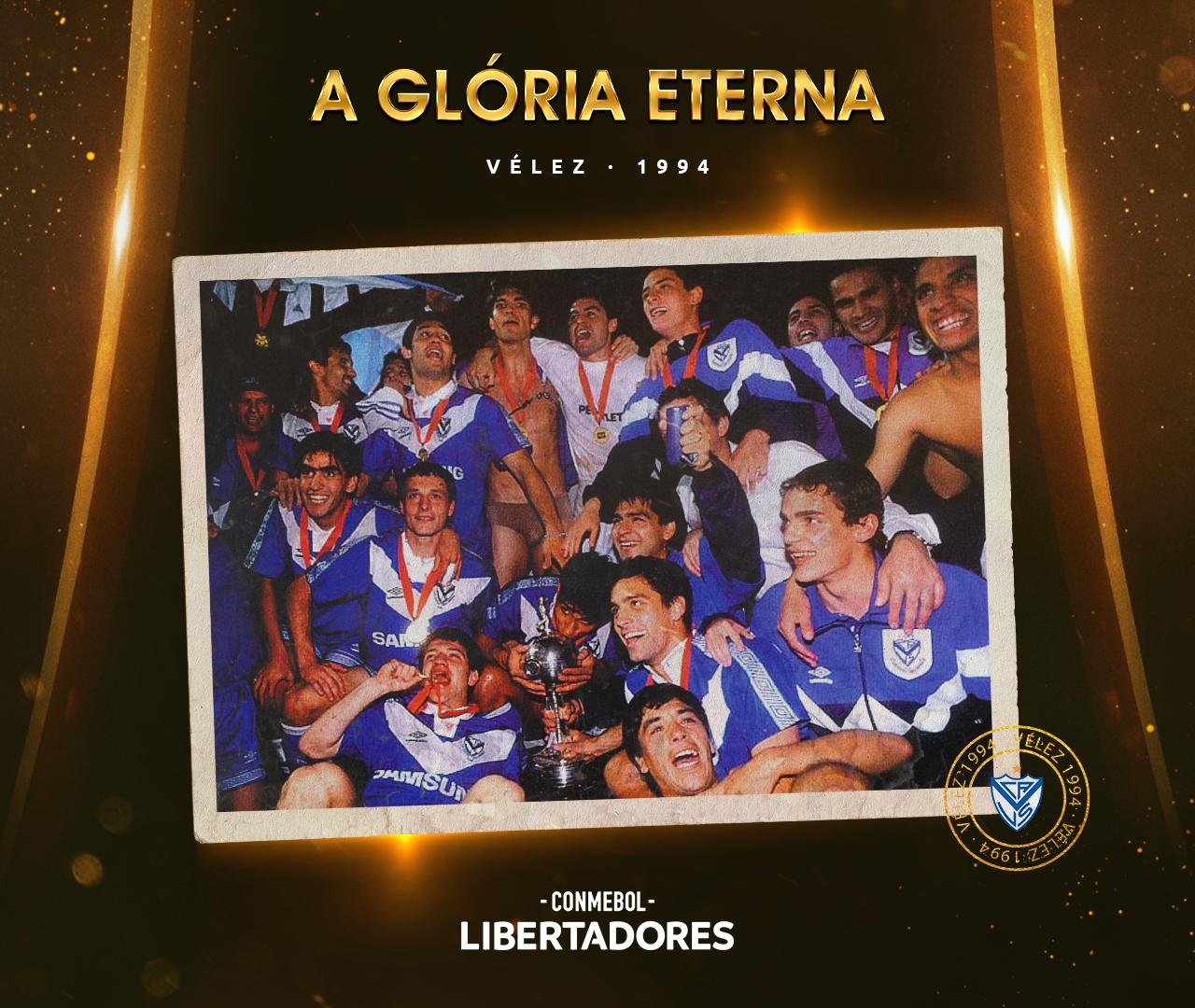 Vélez Sarsfield Libertadores 1994