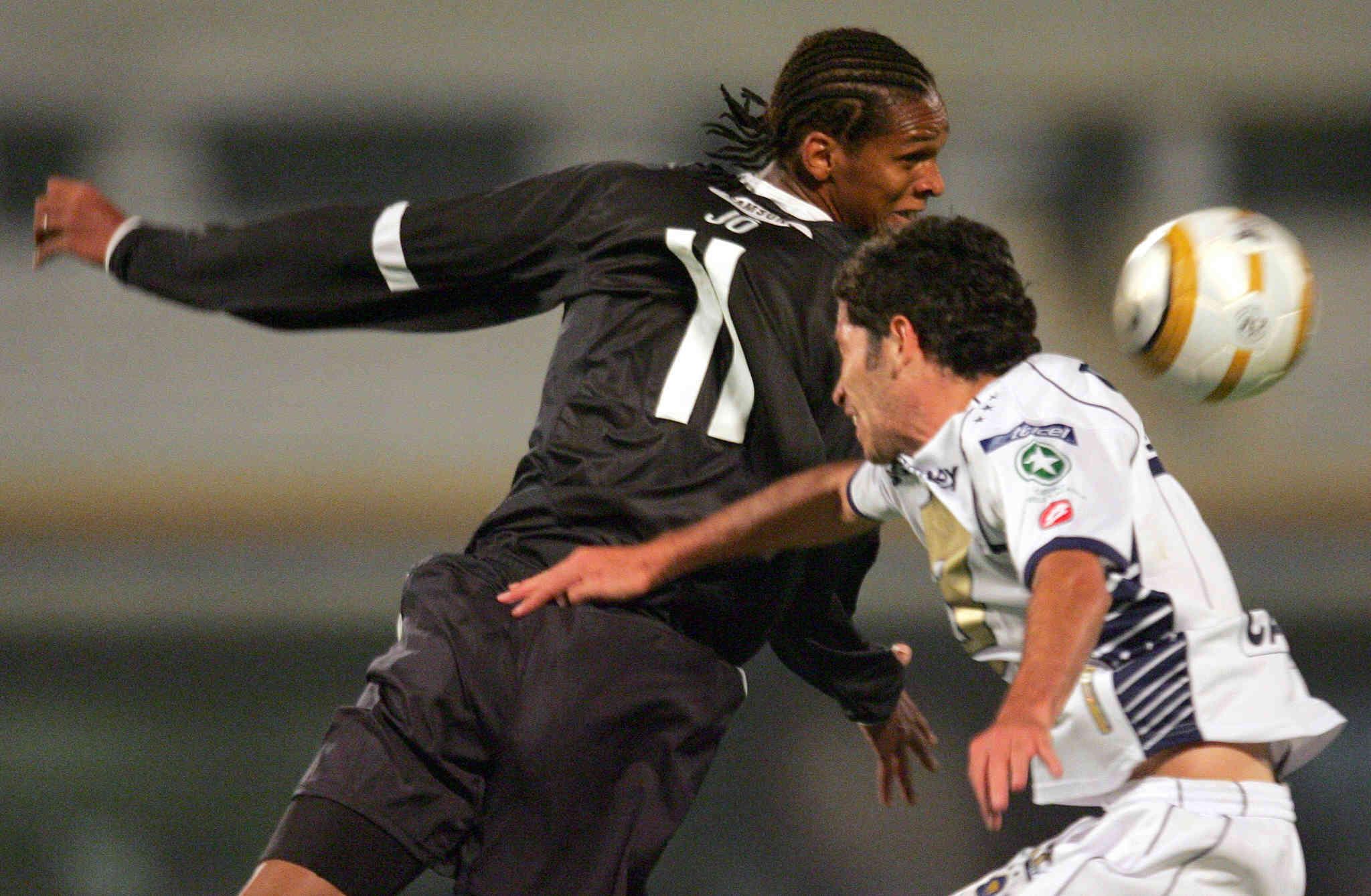Corinthians x Pumas - Sul-Americana de 2005