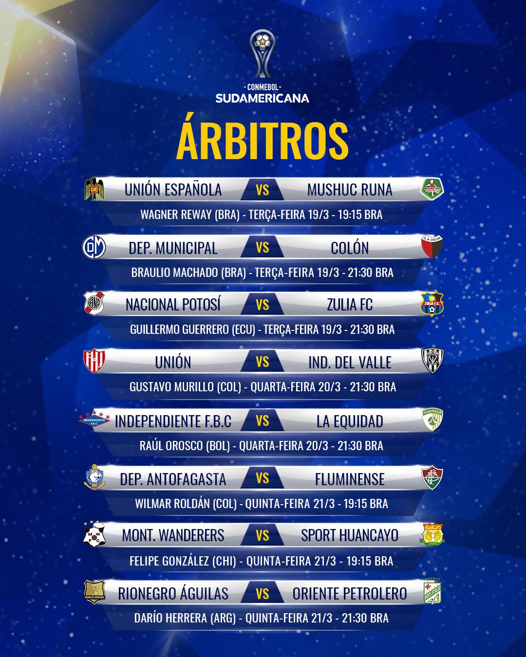 Arbitragem Sul-Americana