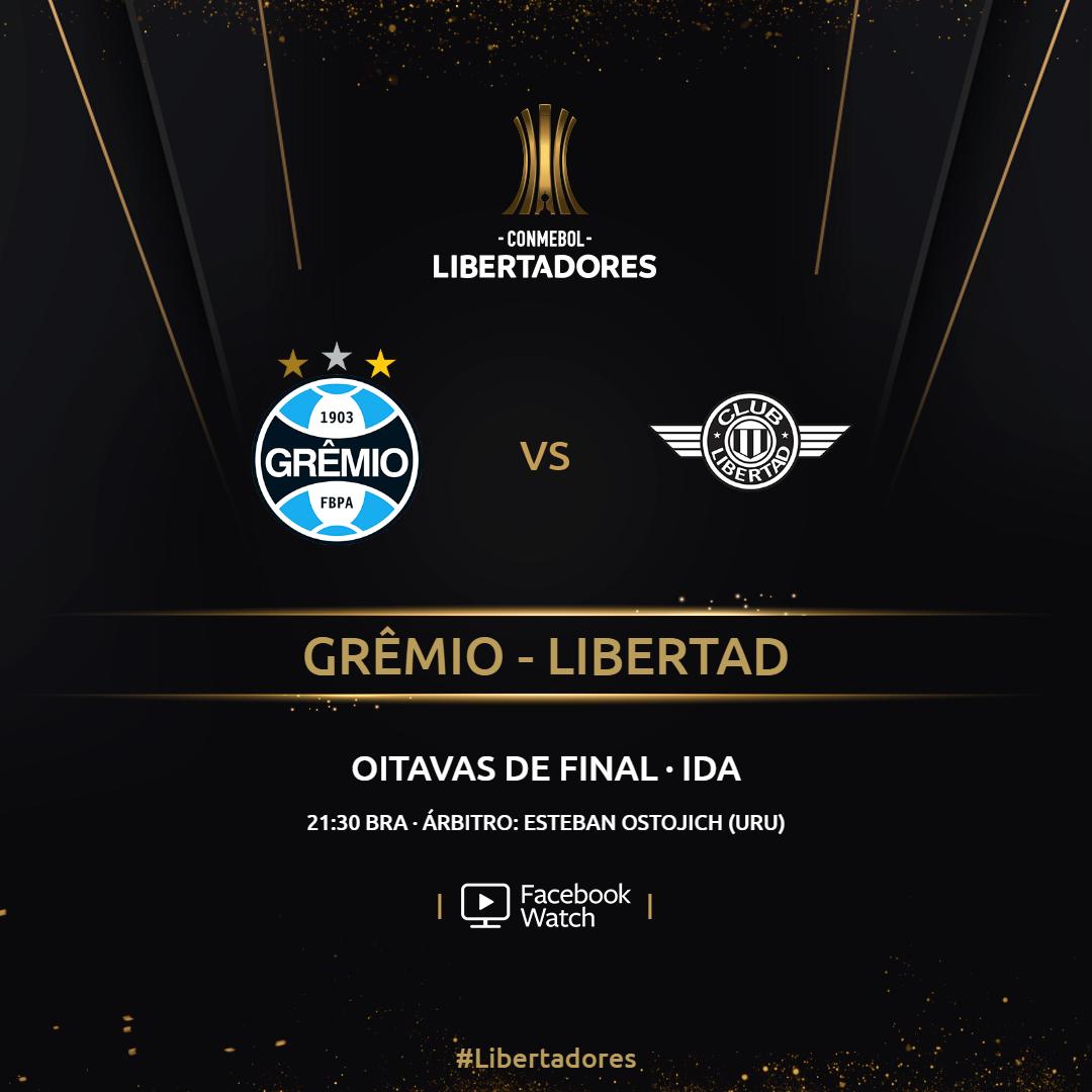 Grêmio x Libertad - Facebook Watch